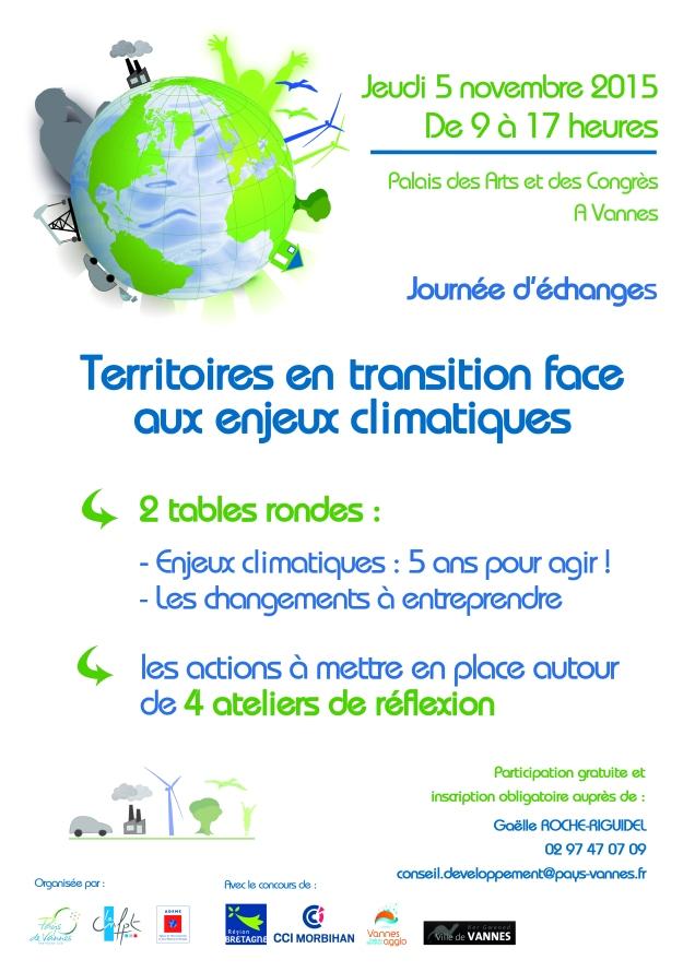 Affiche transition énergétique A3